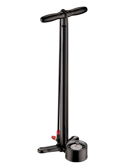 Lezyne Classic Floor Drive Standluftpumpe schwarz glänzend